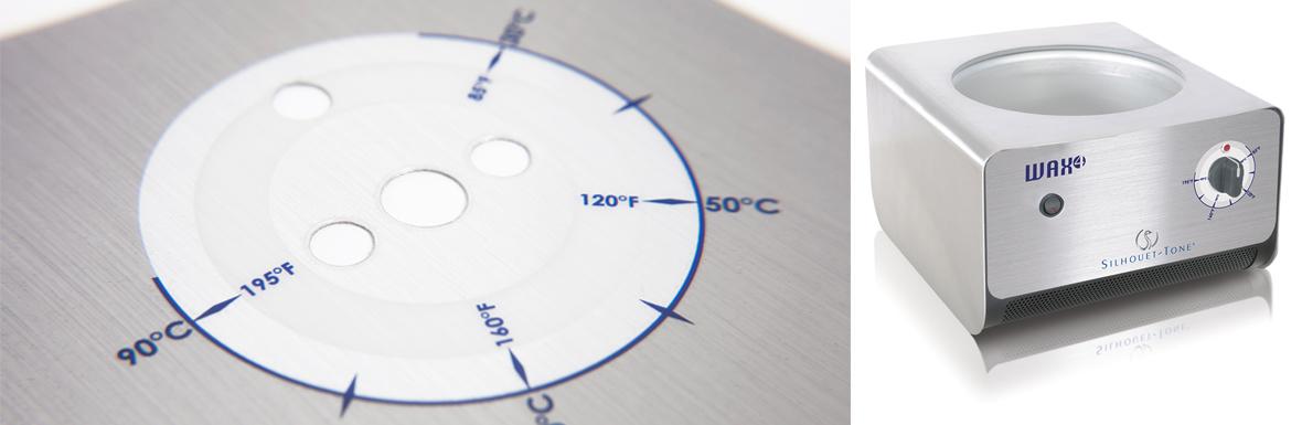 Accent décoratif en polycarbonate pour Silhouet-tone