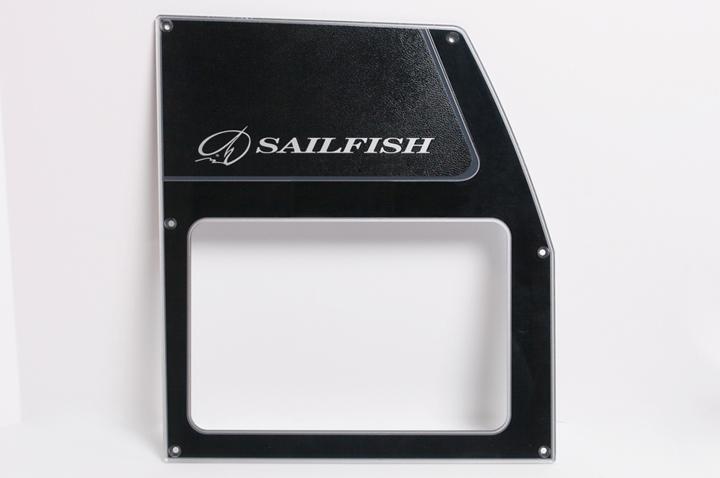 Tableau de bord - rétroéclairage - motif texture - Sailfish