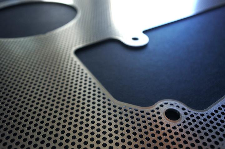 Tableau de bord haut de gamme en aluminium